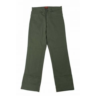 Green coloured country trouser