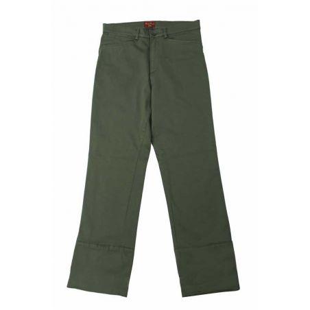 Pantalón campero verde