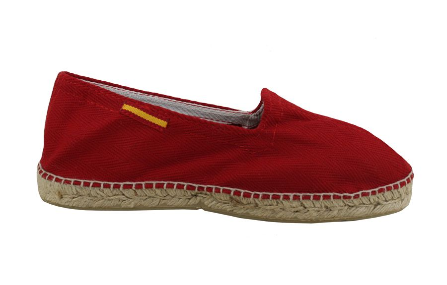 e06b94ce7fe zapatilla de lona rojo