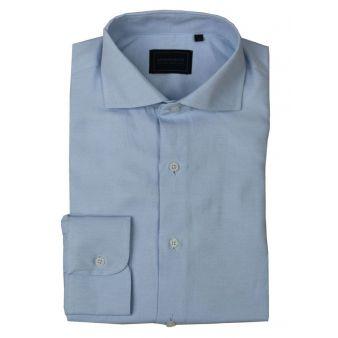 sky blue shirt with...