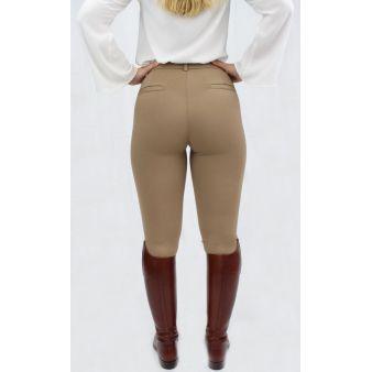 Leggins de señora camel