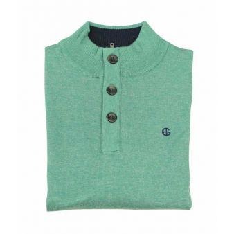 Jersey botones verde