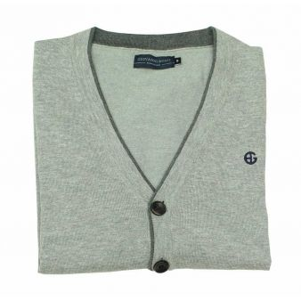 Rebeca botones gris