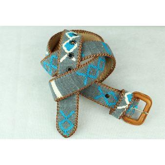 Grey naif model belt with...