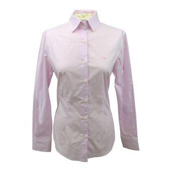 Camisa de señora lisa rosa