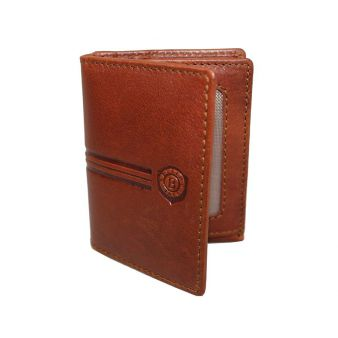 Leather cardholder 3 sections