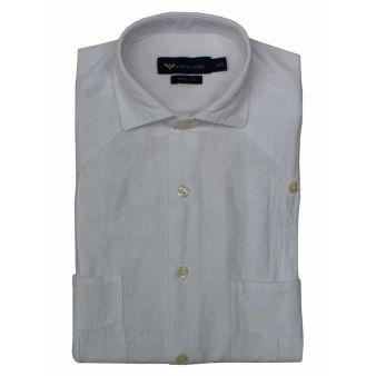 Camisa cubana blanca