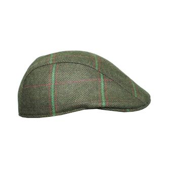 Gorra raya verde