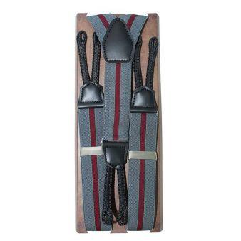 30 cm grey striped elastic...