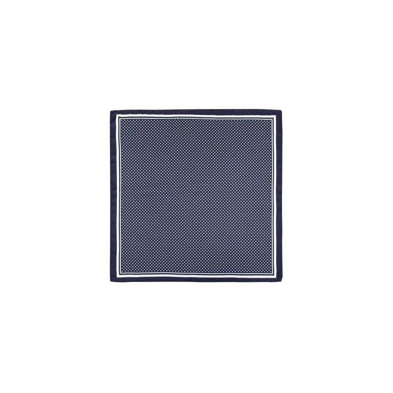 Pañuelo infantil azul con lunares