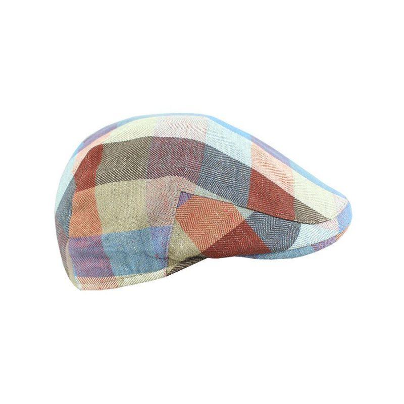Gorra Italiana cuadros azules