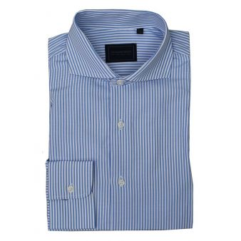 Sky blue striped shirt