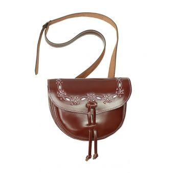 Punched trim bum-bag with...