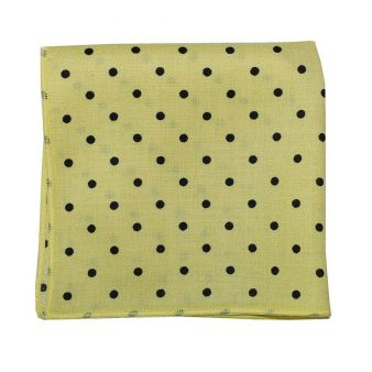 Pocket scarf with yellow...