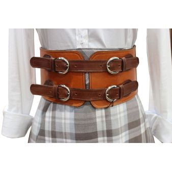 Belt with 4 buckles