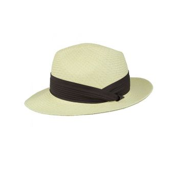 Hat in natural colour with...