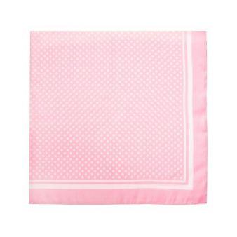 Pañuelo rosa con lunares