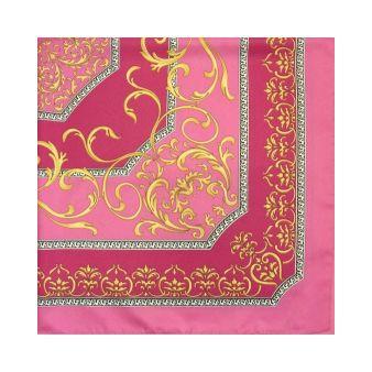 Pañuelo rosa estampado