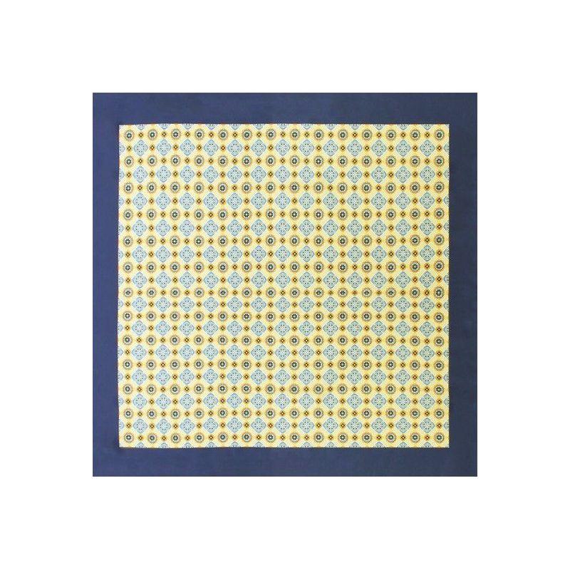 Pañuelo adorno azulejo amarillo