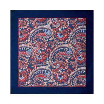 Blue cashmere scarf
