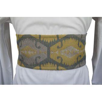 Large yellow ethnic sash