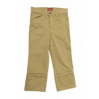 Pantalón infantil campero camel