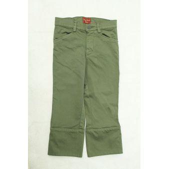 Pantalón infantil campero verde