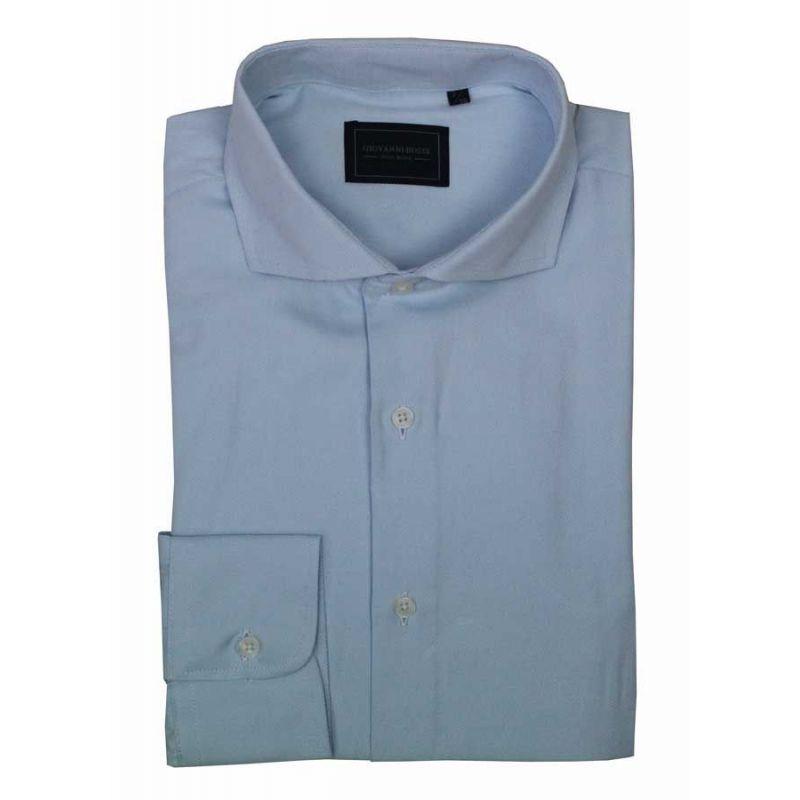 Camisa Oxford celeste