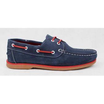Zapato Náutico cordones Azul