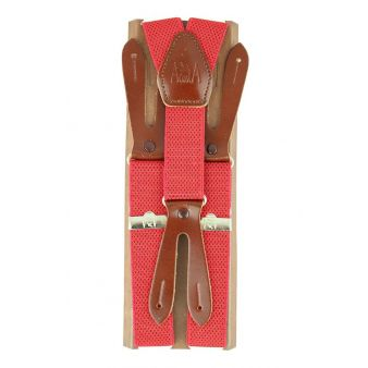 Red elastic braces with...
