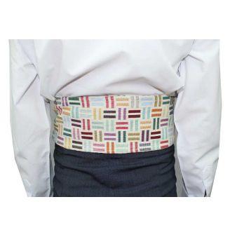 Infant's striped sash