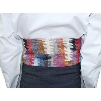 Infant's multi-coloured sash