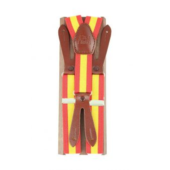 Elastic braces with flag of...