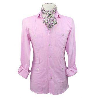 Pink Cuban shirt