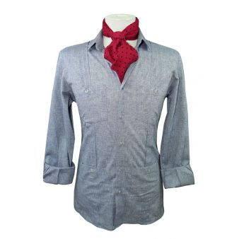 Camisa cubana denim
