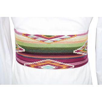 Large ethnic sash