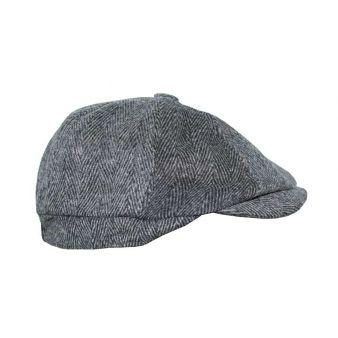 Gorra Irlandesa espiga gris