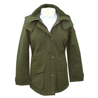 Aigle Saguvi parka in green