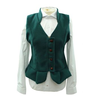 Green Cloth Rocio Waistcoat