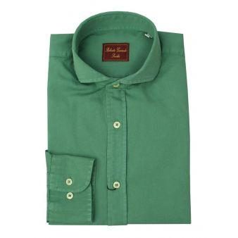Plain green shirt