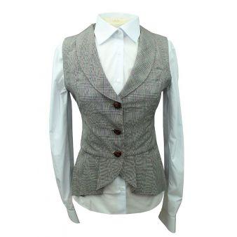 Paloma model grey waistcoat