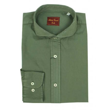 Camisa verde cacería