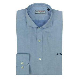 Plain sky blue shirt