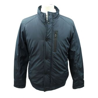 River navy windbreaker