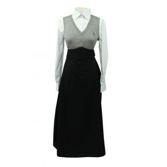 Falda de amazona negra