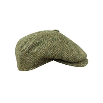 Gorra botón espiga verde