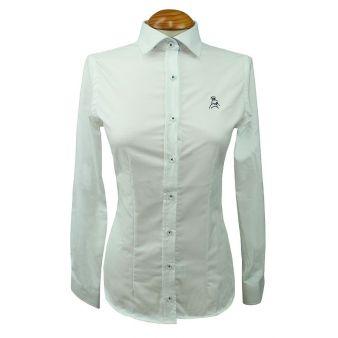 White oxford lady's shirt