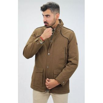 Parka Signature marrón